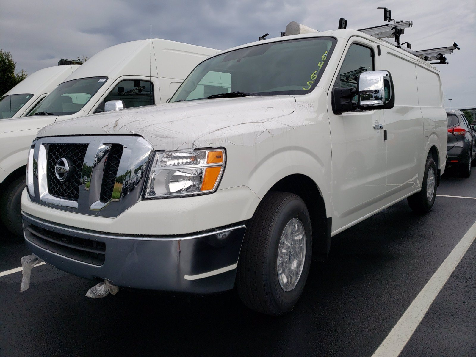 New 2019 Nissan NV Cargo SL