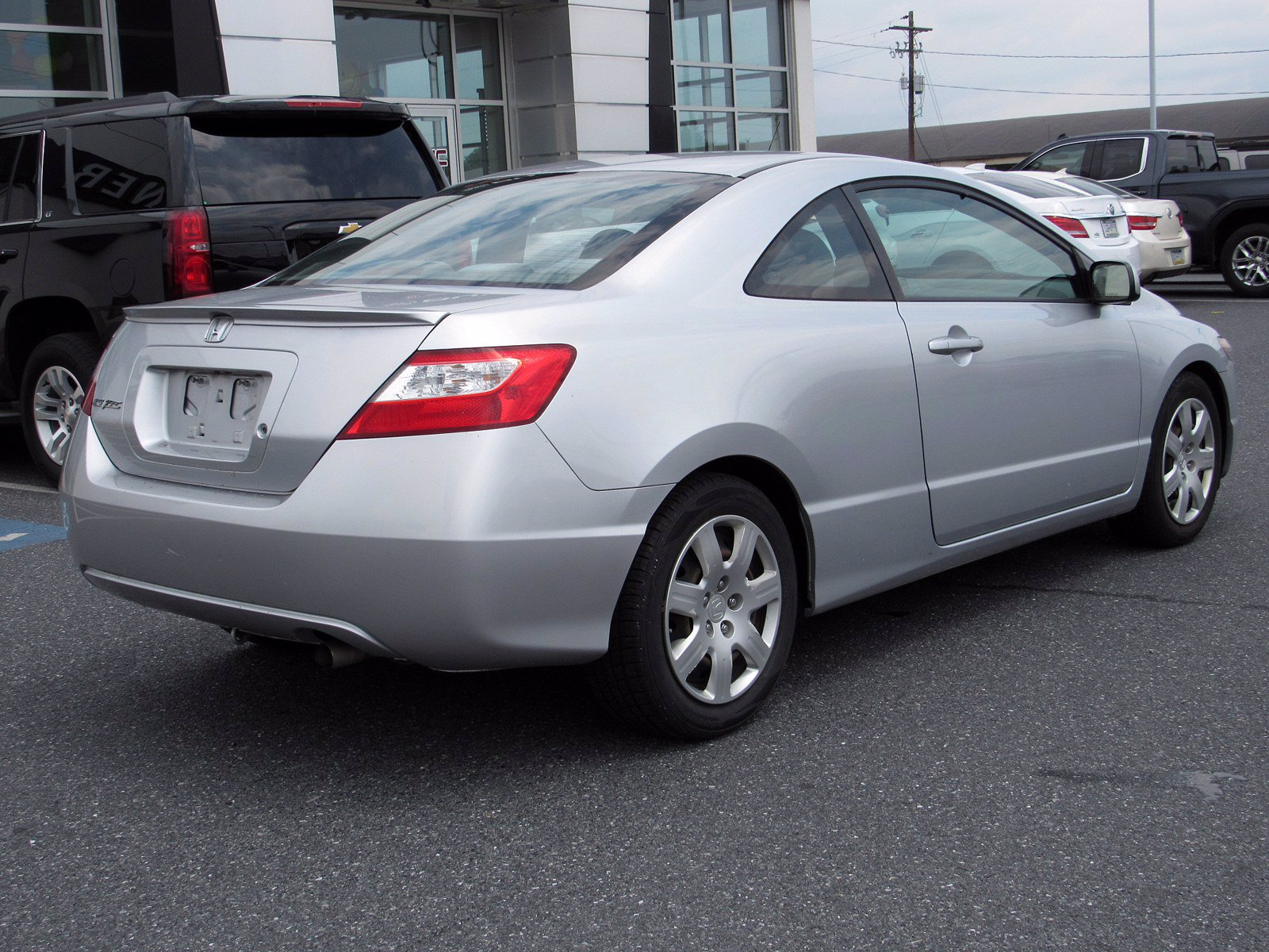 Pre-Owned 2008 Honda Civic Cpe LX