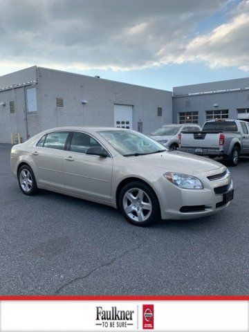 Pre-Owned 2012 Chevrolet Malibu LS with 1LS