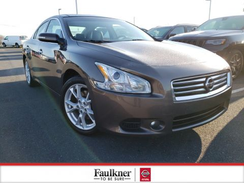 Pre-Owned 2014 Nissan Maxima 3.5 SV with Premium Pkg