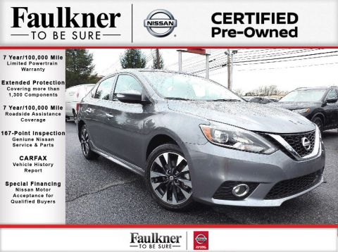 Certified Pre-Owned 2018 Nissan Sentra SR Turbo